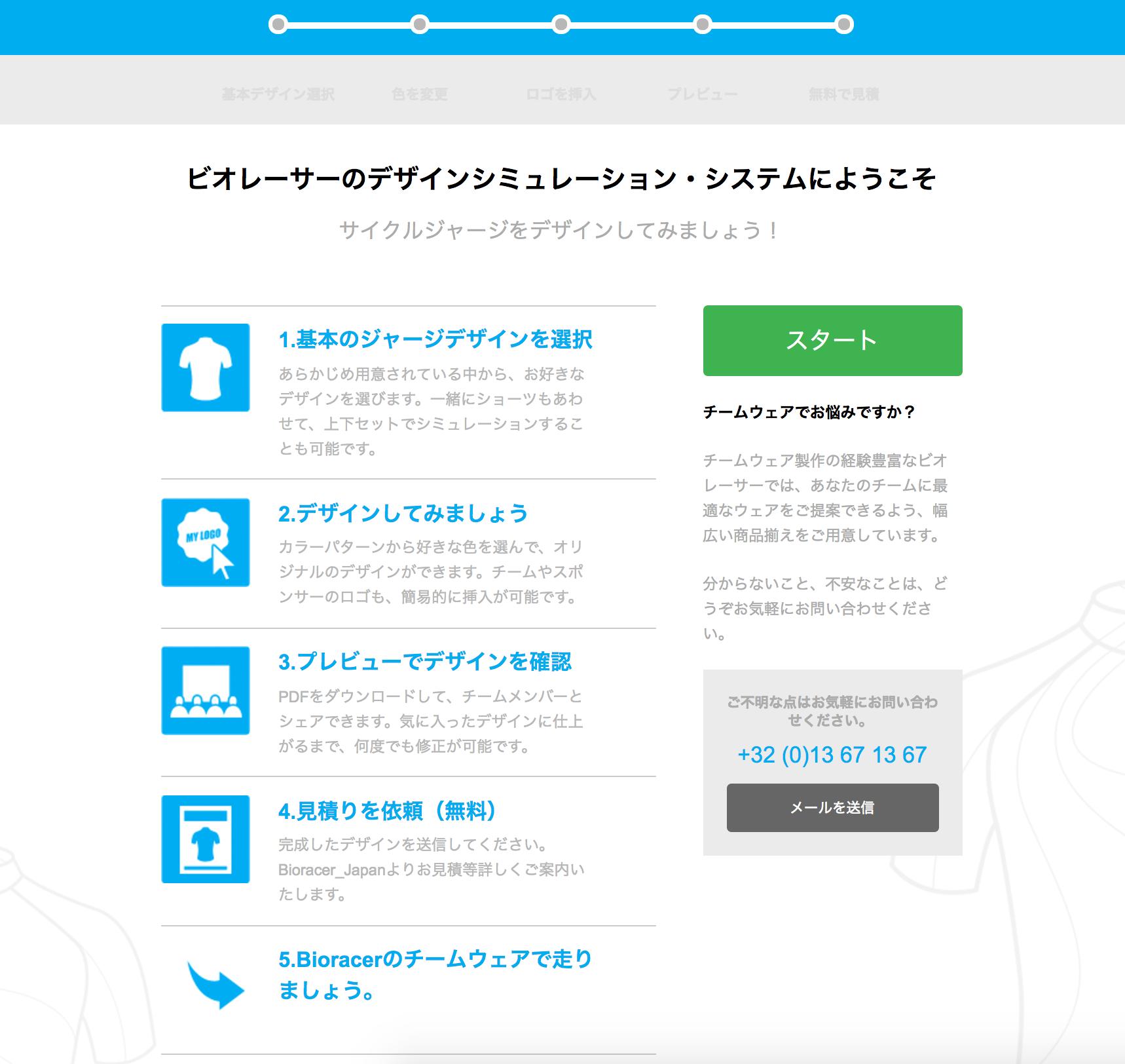 BIORACERデザインシミュレーション・システム サンプル画面